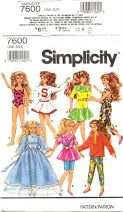 Free Barbie Patterns and tutorials. Adjust for Lottie