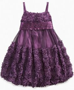 Bonnie Jean Kids Dress, Little Girl Babydoll Dress