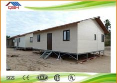 QSH movable family prefab house Manufactured homes and modular homes are both types of prefab housing. Also Known As: factory-built, factory-made, pre-cut, panelized, manufactured, modular, mobile    Structural Insulated Panels are constructed by placing expanded polystyrene between two structural skins which are usually oriented strand board.    A well-built home using SIPs will have a tighter building envelope and the walls will have higher insulating properties