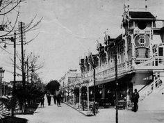 La Terraza en 1913 en los Jardines de Méndez Núñez