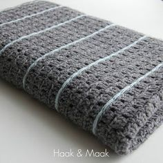 Haak & Maak: Stoere deken haken - gratis patroon