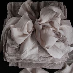 Plant dyed Silk & Ribbons / Silk and Willow http://thelane.com/brands-we-love/silk-willow