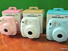 Choose an image (relevant I promise. Instax 8, Instax Mini 8 Camera, Fujifilm Instax Mini 8, Polaroid Camera, Typical Girl, Leica, Cameras, Polaroids, Fun Stuff