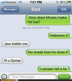 Haha, Bible jokes