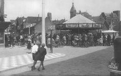 Dordrecht : Kermis op het Bethlehemplein in 1935