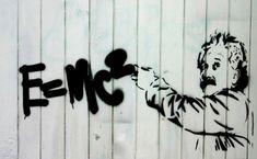 Graffitis con mucha ciencia: http://www.muyinteresante.es/fotos-graffitis-ciencia #science #graffiti #StreetArt