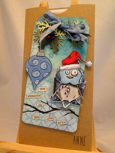 Umschlag 1 für Weihnachts-Gutschein