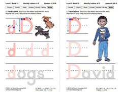 Identify the Letter D: Lesson 5, Book 12 (Newitt Decoding Series)
