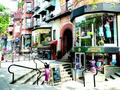Newbury+Street+Stores | Newbury Street Boston