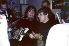 John Lennon and a Jazzmaster Sweet!