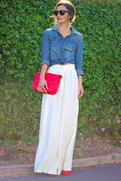 love maxi and chambray together