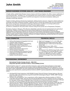 a resume template for a software engineer you can download it and make it your