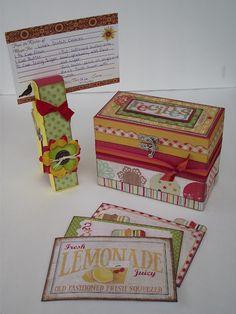 Cute recipe box