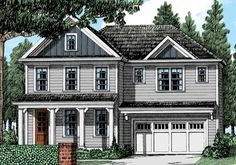 Liberty Park - Home Plans and House Plans by Frank Betz Associates