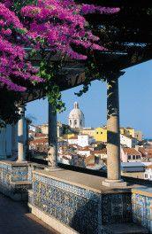 Miradouro Sta. Luzia, Lisboa