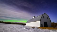 Maine Northern Lights Shimmer by Paul Cyr Photography