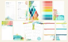 June 2016 Personal Size Day Planner PAGES