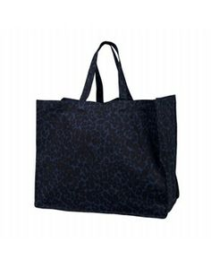 SOFT GALLERY ♥ SNOW LEOPARD WEEKEND BAG - BLUE