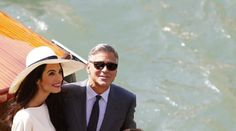 George Clooney et Amal Alamuddin se sont dit oui, lundi à la mairie de Venise, pour sceller leur union.