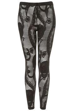 Skull Lace Leggings - £25.00