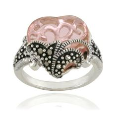Sterling Silver Marcasite and Pink Glass Heart Ring Amazon Curated Collection, http://www.amazon.com/dp/B0032FOI8U/ref=cm_sw_r_pi_dp_vGDerb1VNX7JG