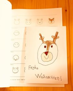 """Lehrerin ✨ auf Instagram: """"Werbung: Meine Kinder lieben es ja Tiere zu malen und daher werde ich sehr oft gefragt wie man welches Tier malen kann. Nun habe ich, dank…"""" Kawaii, Snoopy, Christmas, Crafts, Fictional Characters, Instagram, Give Thanks, Advertising, Animales"""