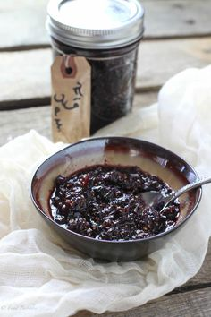 This red wine fig jam recipe is just screaming for a Missouri Norton (dry red wine). How delicious does this sound? Wine Jelly, Jam And Jelly, Antipasto, Fig Jam, Dried Figs, Meals In A Jar, In Vino Veritas, Canning Recipes, Vegan