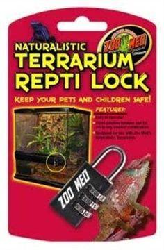 Zoo Med Naturalistic Terrarium Reptile Lock « Pet Lovers Ads