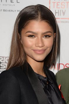 Zendaya at the Inaugural World Aids Day Benefit in LA 12/1/15