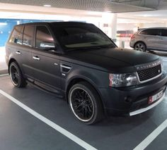 Matte Range Rover