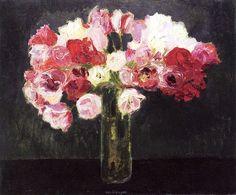 Bouquet of Roses Kees Van Dongen