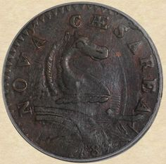 1787 New Jersey Copper obverse