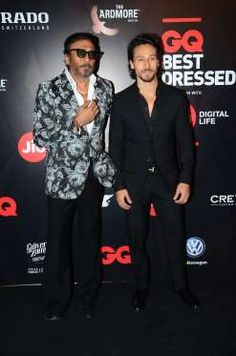 Celebrities at GQ Best Dressed 2017 Best Dressed 2017, Disha Patni, Tiger Shroff, White Smile, Dance Moves, Bruce Lee, Celebs, Celebrities, My Crush