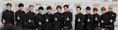 EXO @ 3rd Gaon Awards Red Carpet #EXO #EXO-K #EXO-M #awards #Red Carpet #OT12 #xiumin #luhan #kris #suho #lay #baekhyun #chen #chanyeol #D.O #tao #kai #sehun