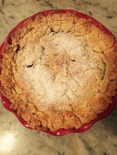 Gluten Free Apple Pie w/ fall leaf crust