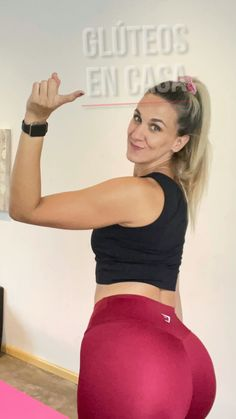 Gym Workout For Beginners, Fitness Workout For Women, Workout Videos, Fitness Tips, Fitness Motivation, Slim Waist Workout, Butt Workout, Gym Workouts, At Home Workouts