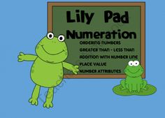 Smartboard - Lily Pad Numeration from Sweet Integrations...With a Taste of Technology on TeachersNotebook.com (18 pages)