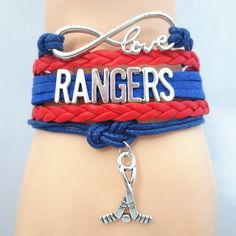 Infinity Love New York Rangers Hockey Bracelet BOGO