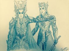 Thranduil urges Oropher to wait for Gil Galad's forces before attacking Mordor -- where his own life is changed forever. Gil Galad, Lotr Elves, Legolas And Thranduil, You Shall Not Pass, Stand Down, Apple Model, Elvish, Middle Earth, Tolkien