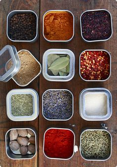Elegant solution for Melissa's problem and mine: people who design spice racks aren't actually people who cook.