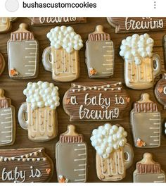 Mail - peggy johnson-whipkey - Outlook Mail - peggy johnson-whipkey - Outlook reveal ideas for party Baby Cookies, Baby Shower Cookies, Baby Shower Fun, Baby Shower Gender Reveal, Baby Shower Themes, Baby Shower Decorations, Sugar Cookies, Shower Ideas, Baby Gender