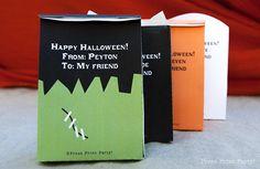 Free Halloween treat bag Printables