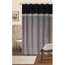 terra polyester shower curtain