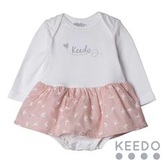 """Frill grow - A gorgeous """"tutu"""" style baby grow, perfect for the little princess in your life. Popper detail on the gusset helps make nappy changes easy! Winter Sky, Baby Grows, Blush Color, Accent Colors, Little Princess, No Frills, Tutu, Kids Outfits, Detail"""