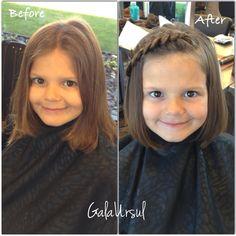Haircut for little girls