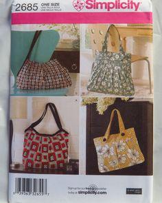 Simplicity 2685 Handbags