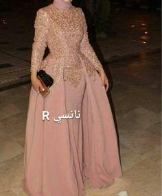 Muslim Prom Dress, Hijab Evening Dress, Hijab Dress Party, Evening Dresses, Modest Maxi Dress, Modest Outfits, Dress Skirt, Dress Up, Abaya Fashion