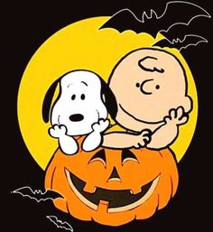 festeggiamo halloween con snoopy e Charlie Brown Snoopy Halloween, Charlie Brown Halloween, Great Pumpkin Charlie Brown, Charlie Brown And Snoopy, Halloween Snacks, Halloween Art, Vintage Halloween, Happy Halloween, Halloween Cartoons