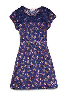 Desert Rose Lace Dress (Kids) | FOREVER21 girls - 2000071576