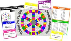 Réviser les grands nombres à travers un jeu de Trivial, qui se joue avec ou sans les camemberts (cf.trivial scores à plastifier) : - Recomposer - Comparer - Valeur du chiffres et nombres de ... - Encadrer - Ecrire en chiffres (ou Arrondir pr ceux qui préfèrent) - Ajouter et enlever 6 compétences dans lesquelles vous pouvez glisser des cartes Chance.